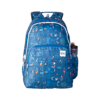 Wildcraft Wiki 4 Jock Backpack - Blue
