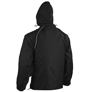 Wildcraft Unisex Self-Packable Rain Cheater Suit - Black
