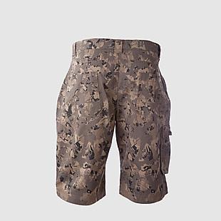 Wildcraft Men Cotton Bermuda Shorts - Camo Brown