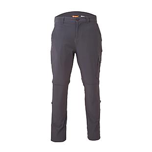 Wildcraft Men Packable Convertible Pants - Black