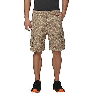 Wildcraft Men Camo Bermuda
