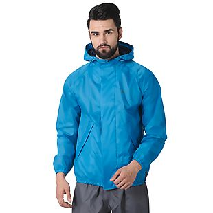 Wildcraft Hypadry Plus Unisex Rain Jacket - Light Blue