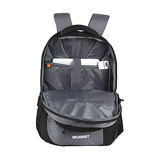 Wildcraft Avya Laptop Backpack With Gadget Organizer - Grey